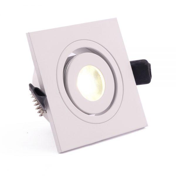 1W LED šviestuvas baltos spalvos šviečiantis pakalimams