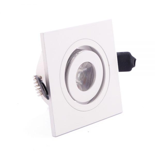 1W LED šviestuvas baltos spalvos pakalimams