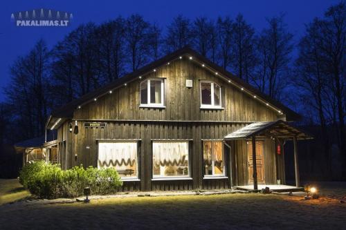 Poilsio namelis 1W LED šviestuvai pakalimuose 1