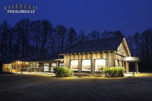 Poilsio namelis 1W LED šviestuvai pakalimuose 2
