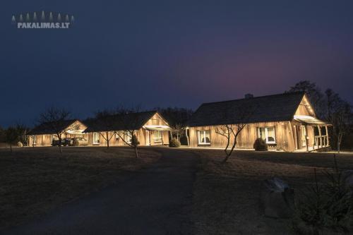 Poilsio namelis 1W LED šviestuvai pakalimuose 3