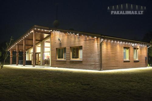 Privatus namas 1W LED šviestuvai pakalimuose 2