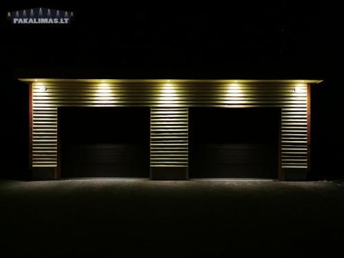 Garažo pakalimų apšvietimas 4